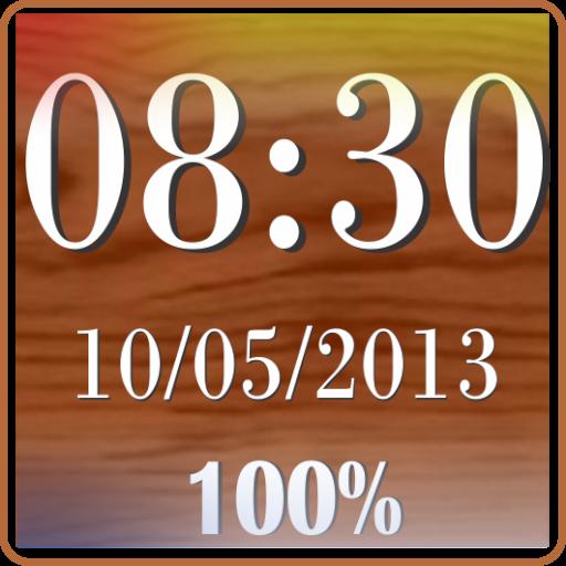 Clock & Battery wallpaper pro LOGO-APP點子
