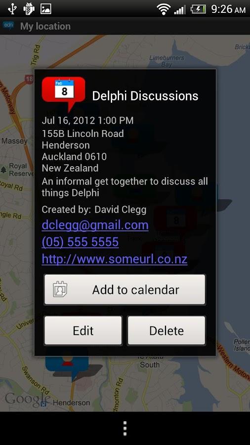 EDN Mobile- screenshot