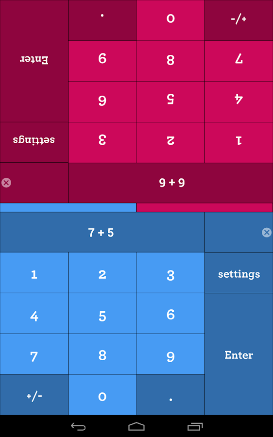 Math Duel - 2 Player Math Game- screenshot