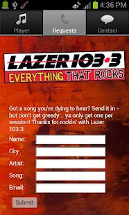 Lazer 103.3 - screenshot thumbnail