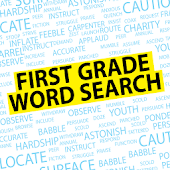 Word Search First Grade