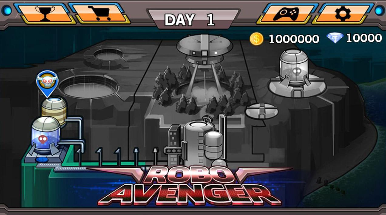 Robo Avenger - screenshot