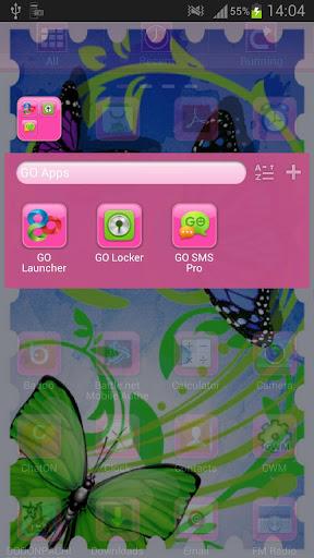 玩個人化App GO桌面主題蝴蝶免費 APP試玩