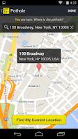 Screenshot of NYC 311