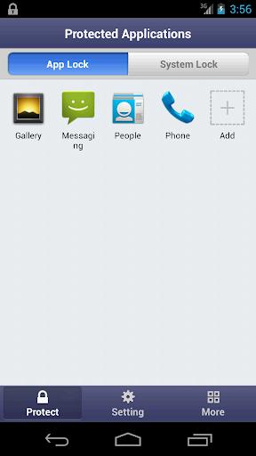 ������ ������� �� ������ ��� ��������� Smart AppLock Pro 2 v3.13.0