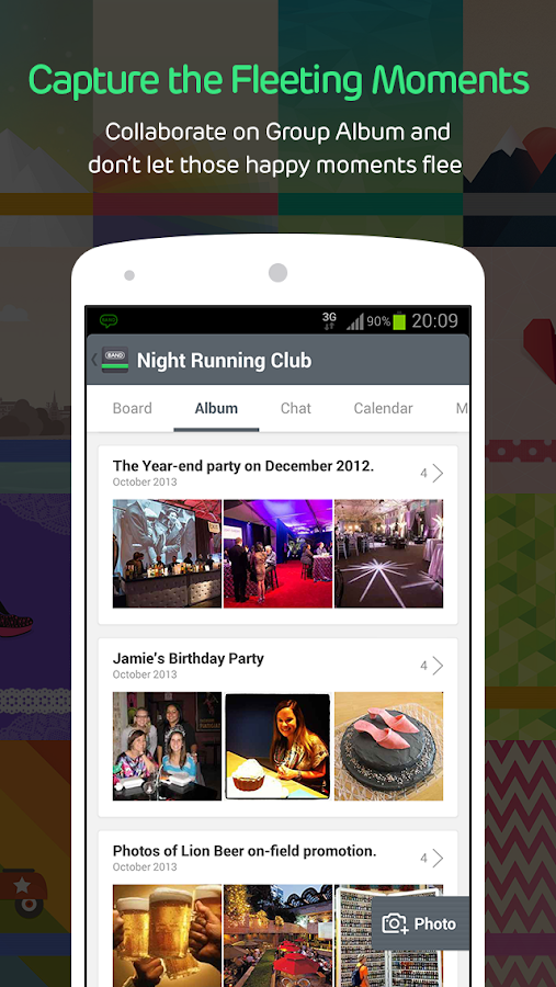 BAND -Group sharing & planning - screenshot