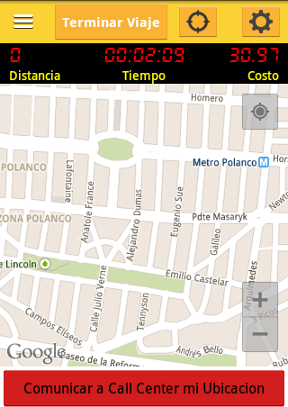 Taxiaviso- screenshot