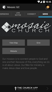 Mosaic Church GC - screenshot thumbnail