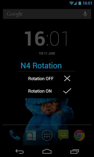 N4 Rotation Lock