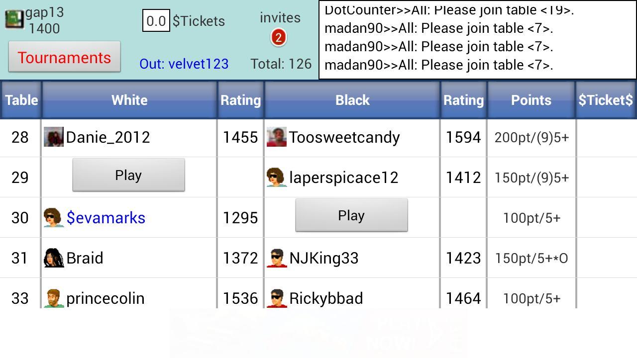 Domino Live - screenshot