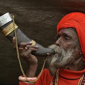 by Ajay Halder - People Portraits of Men (  )