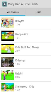Nursery Rhyme - screenshot thumbnail