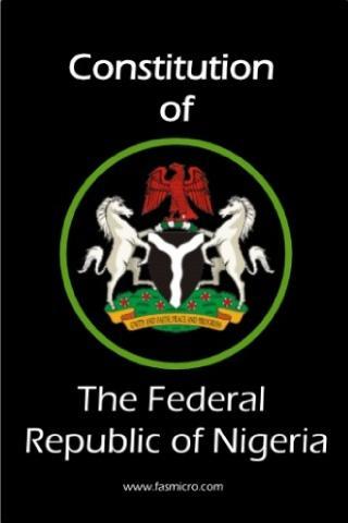Image result for nigeria constitution