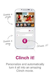 Clinch -Automatic Video Editor - screenshot thumbnail