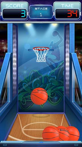 Basketball 3D Free 1.0.1 screenshots 2