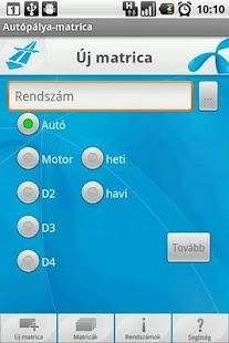 Autópálya-matrica - screenshot thumbnail