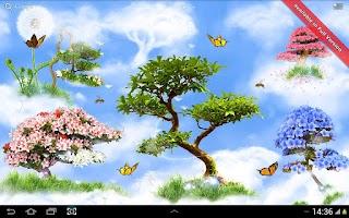 Screenshot of Sky Flowers HD Free