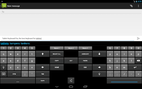 Tablet Keyboard Pro - screenshot thumbnail