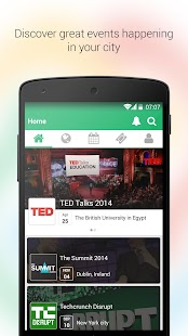 Eventtus - Events App - screenshot thumbnail