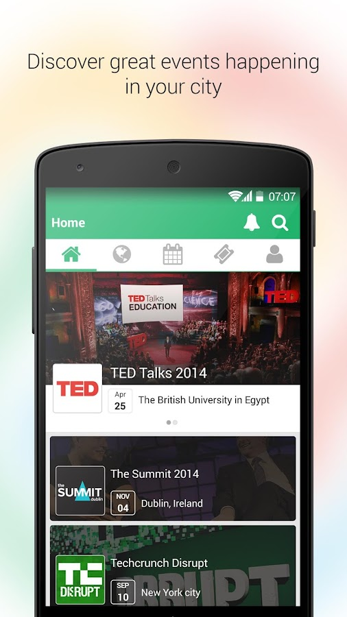 Eventtus - Events App - screenshot