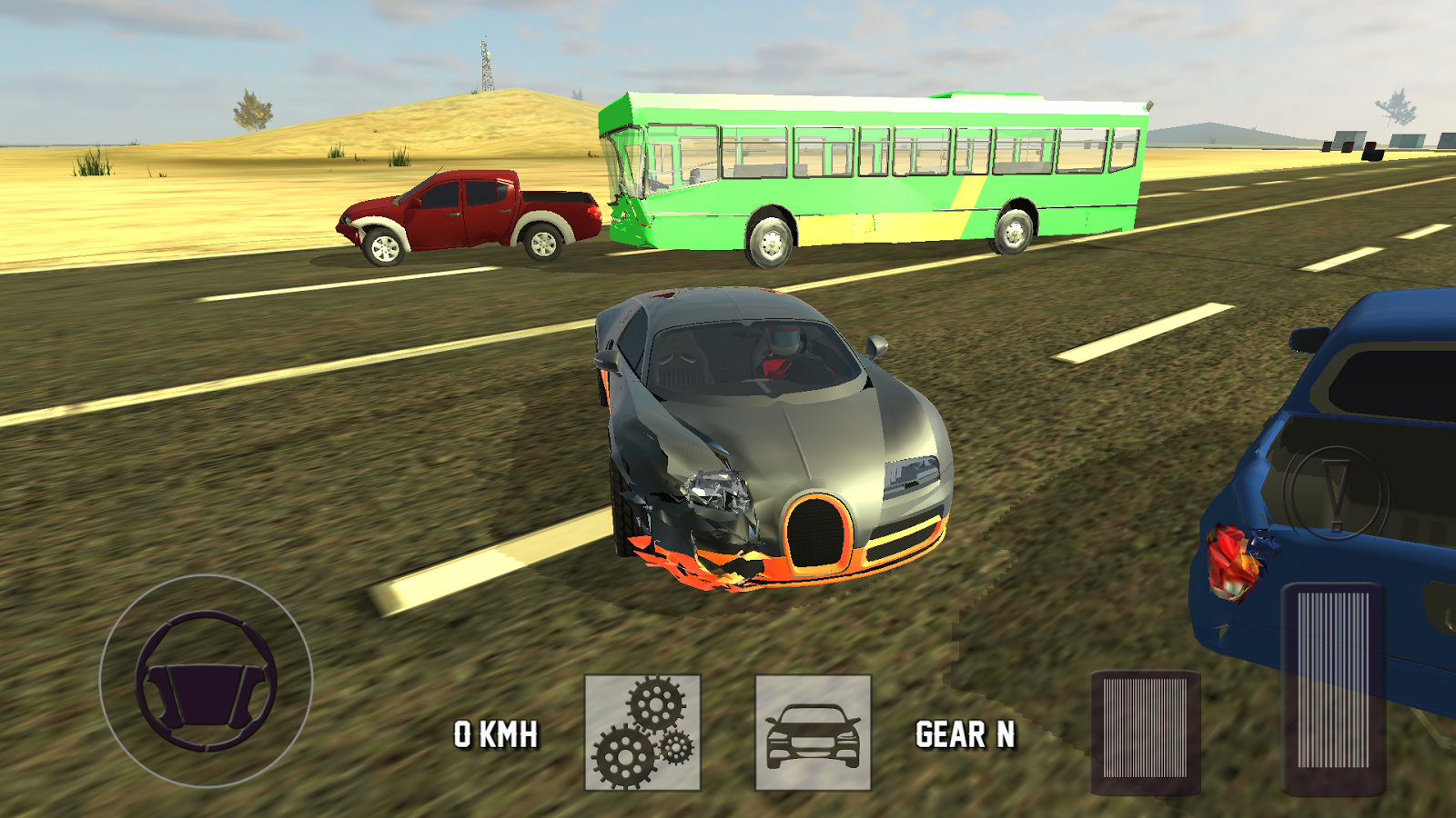 Super car city driving sim free games free online - Super Sport Car Simulator Screenshot