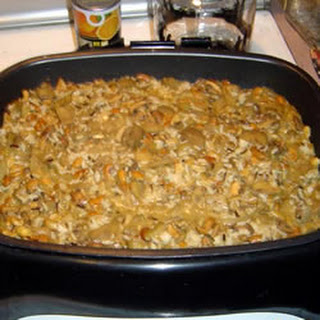 Eggplant and Mushrooms with Wild Rice.