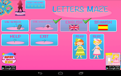 Maze of Princesses Letters - screenshot thumbnail