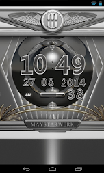 Digi Clock Widget Platinum APK screenshot thumbnail 4