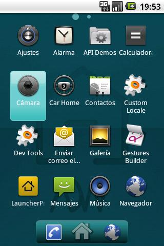 ADWTheme StockBlue - screenshot