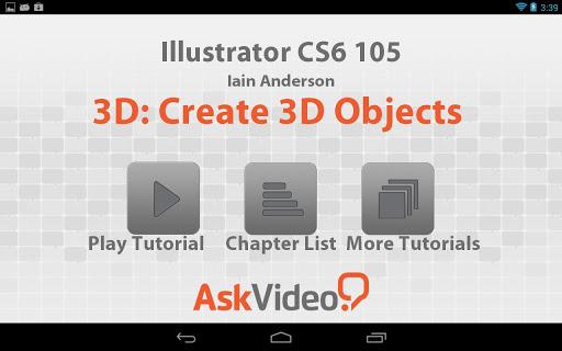 Illustrator CS6 3D Objects