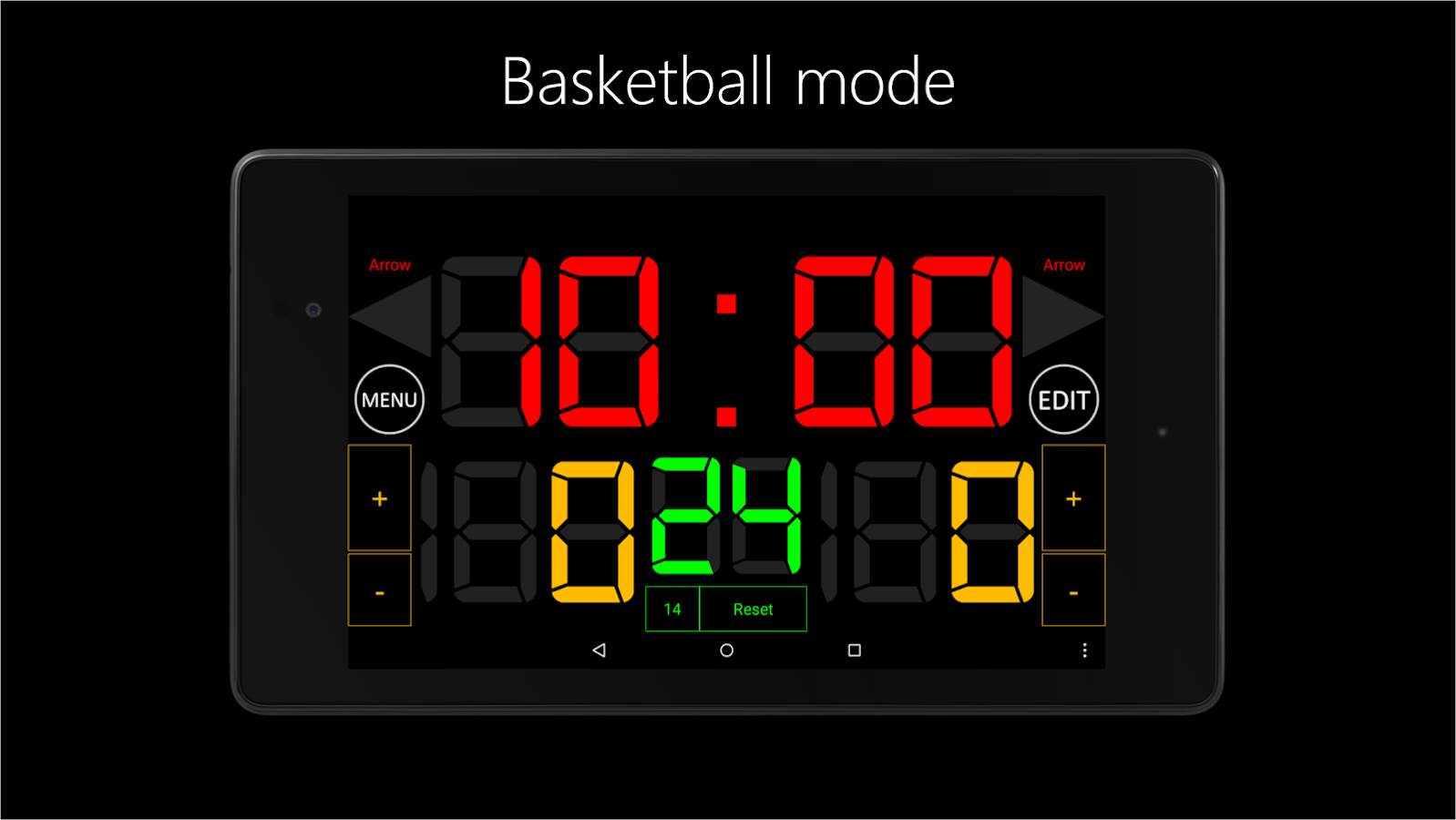 Scoreboard Basketball- screenshot