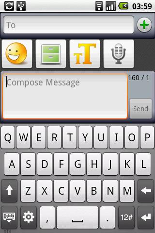 SMS Composer - screenshot