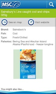 Seafood Finder - screenshot thumbnail