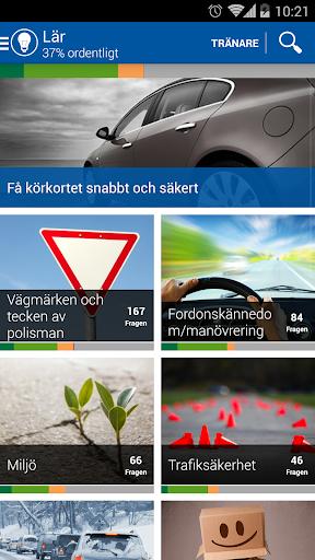 iTeori - Trafiktestet Sverige