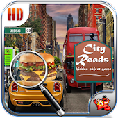 City Roads Hidden Objects Game
