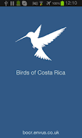 Screenshot of Birds of Costa Rica