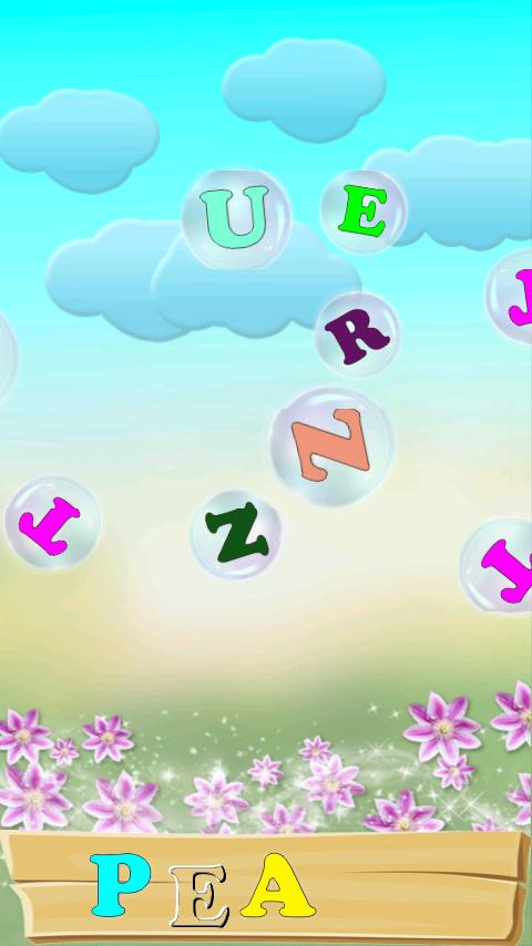 ABC Bubbles - English. Lite - screenshot
