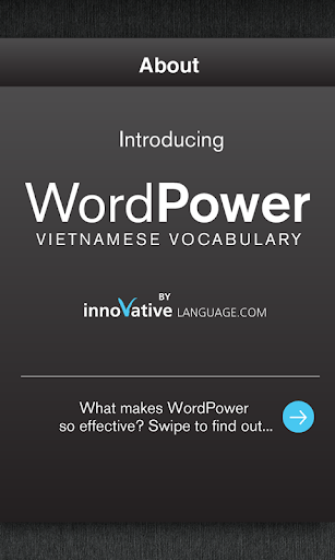 Free Vietnamese WordPower