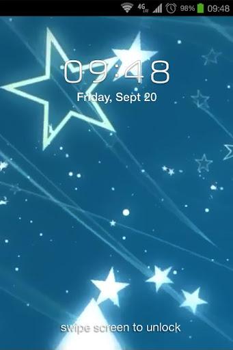 Stars Falls Live Wallpaper
