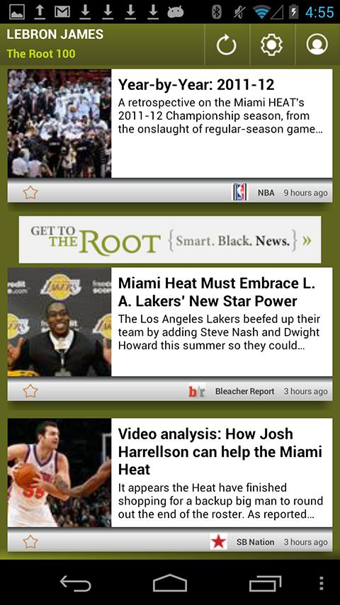 LeBron James: The Root 100 - screenshot