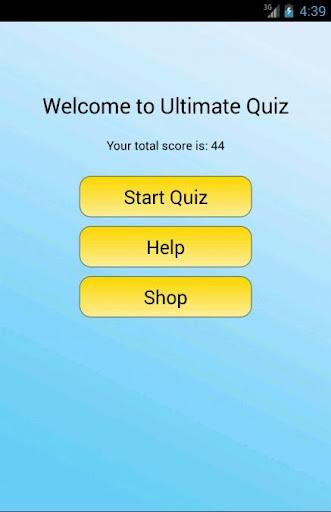 Ultimate Quiz