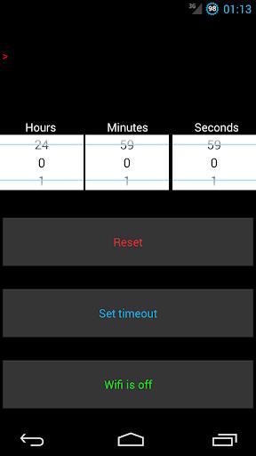 WiFi Timeout