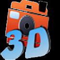 3D Stereo Camera logo