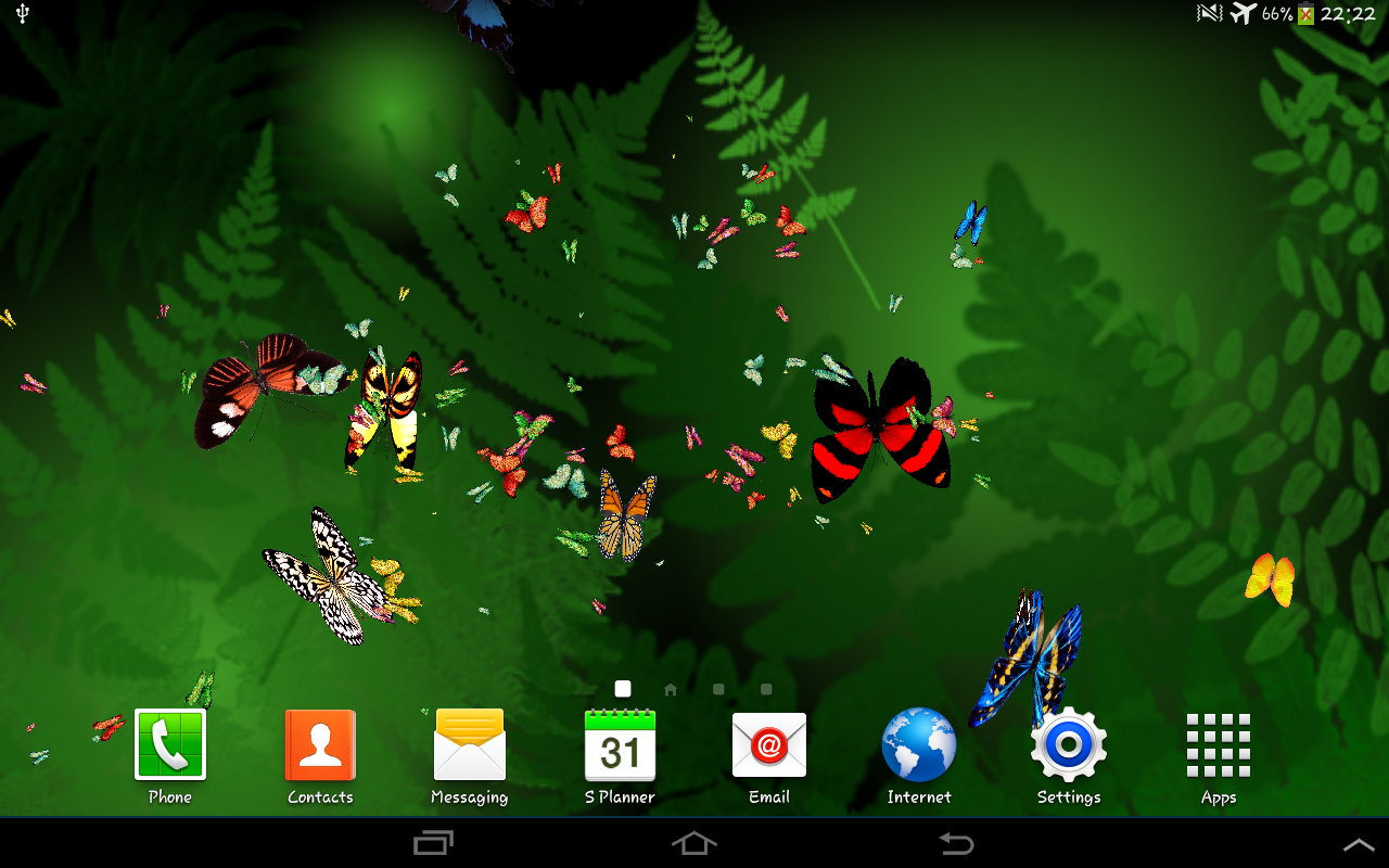 butterfly live wallpaper android apps on google play