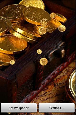 Fondo Animado Oro