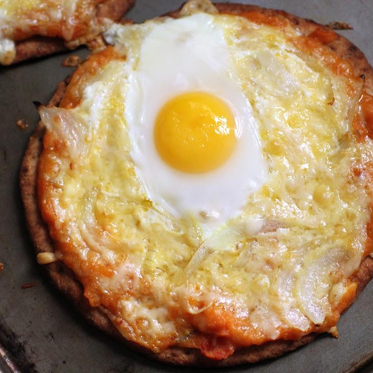 Naan Breakfast Pizza