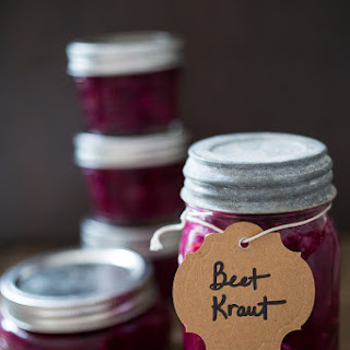 Beet and Cabbage Kraut