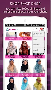Hijab Fashion Photo Shopping screenshot 4