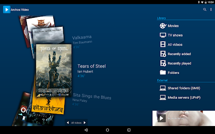 Archos Video Player Screenshot 5