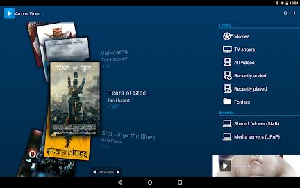 Archos Video Player Screenshot 1